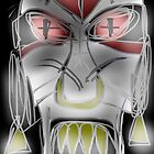 jenlakwa seiye, evil spirit mask by CMProductions