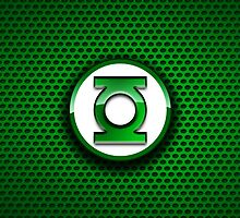 iPhone Cover - Cool Green Lantern Logo by Chibie