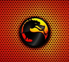iPhone Cover - Mortal Kombat Logo by Chibie