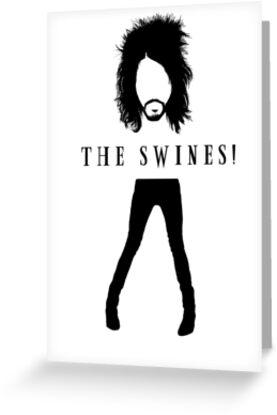The Swines! T Shirt by Fangpunk