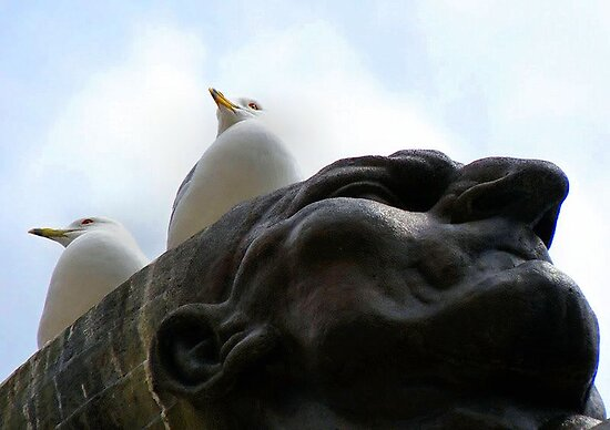 Gulls On The Spearman by SuddenJim
