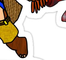 Banjo KaWHOee Sticker