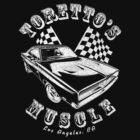 Toretto's Muscle (White) by MrSchadenfreude