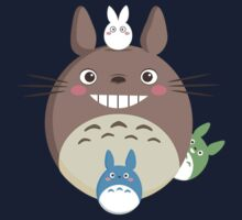 【1600+ views】Totoro III by Ruo7in