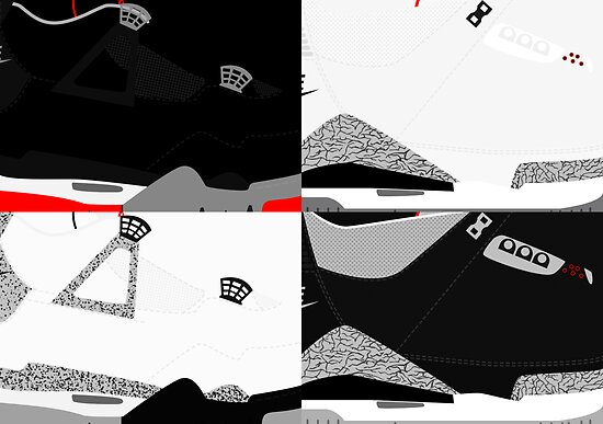 Made in China - Cement Pack Sample Sizes - Pop Art, Sneaker Art, Minimal by roctobot