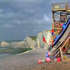 The Fishing Boat - Birling Gap - HDR by Colin  Williams Photography