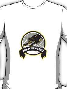 Panther Big Cat Growling T-Shirt