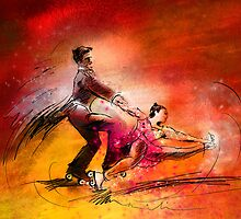 Artistic Roller Skating 02 by Goodaboom
