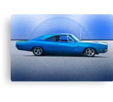 1969 Dodge Charger R/T 'Flex'n Muscle' Canvas Print