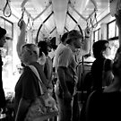 Budapest - People On The Tram  by rsangsterkelly