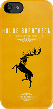 House Baratheon iPhone Cover by liquidsouldes