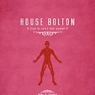 House Bolton iPhone Case by liquidsouldes