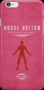 House Bolton iPhone Case by liquidsouldes