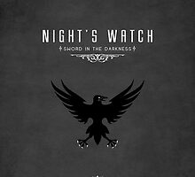 Night's Watch iPhone Cover by liquidsouldes