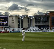Scoreboard & North West Terrace by Andrew Pounder