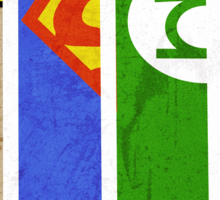DC Comic Legends Sticker