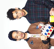 Rizzle Kicks iPhone Case by sonicsandwands
