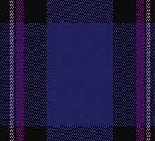 02786 Earl Blue Marl Fashion Tartan Fabric Print Iphone Case by Detnecs2013
