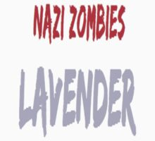 Nazi Zombies: Lavender Logo by Blue Oak
