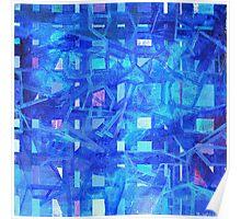 Rhythm in Blue Poster