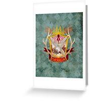 Hannibal Crest Greeting Card