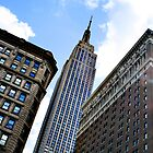 The Empire State Building From Macy's by Andrew Connor Smith