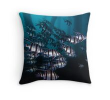 Lurking In The Shadows Throw Pillow