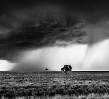 It's Here * Ilfracombe Queensland B/W by Deon Mackay