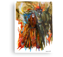 Annatar & Morgoth Metal Print