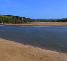 The Mouth of the Estuary, Bantham by jcjc22