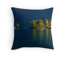 RIPPLING REFLECTIONS Throw Pillow