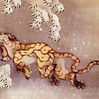 Tiger in the Snow (Reproduction) by Roz Barron Abellera