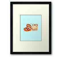 Sweet Caramel Graham Cracker Duo Framed Print