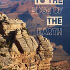 To the edge of the earth by Becki Breed