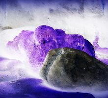 Purple Boulders by aussiedi
