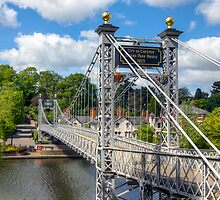 Bridge Over The River Dee, Chester by George Standen