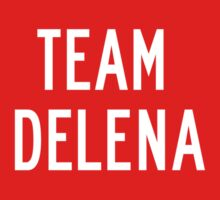 Team Delena (white) by Belle333Black