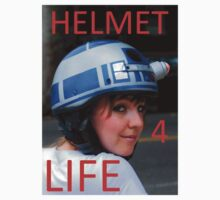 HELMET FOR LIFE by joebugdud
