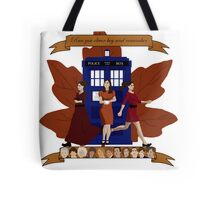 Clara and The Doctors Tote Bag