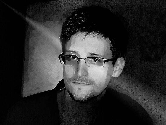 Edward Snowden by Albert