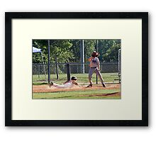 Play at First Framed Print