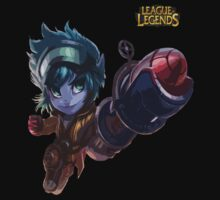 League of Legends - Tristana Rocketeer by JellyBeanie