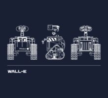 WALL-E - Blueprint Series by Tax Demolition, Tucson