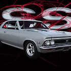 SS 396 Muscle Car in Red by cthomas888