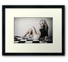 Checkered Framed Print