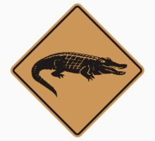 Crocodile Sign by SignShop