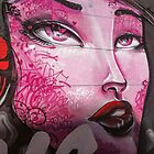 Melbourne Street Art #103 - Pink Lady by pommieken