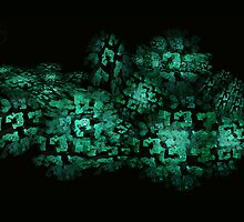 ©DA City Of Jade Fractals by OmarHernandez