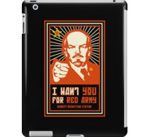 SOVIET RED ARMY I WANT YOU iPad Case/Skin