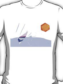 On the Beach; summer T-Shirt
